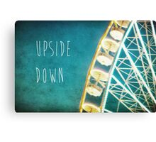 Upside Down Canvas Print