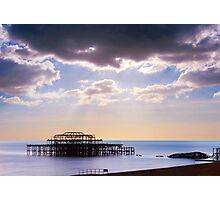 Wreck of the West Pier Photographic Print