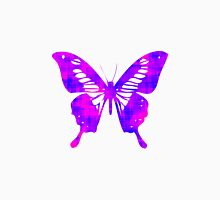 Pink & Purple Butterfly Unisex T-Shirt