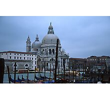 Venice, brilliant architecture, wonderful lifestyle.. Photographic Print