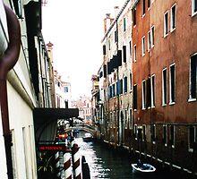 Venice, barber poles and gondolas... by Peter Doré