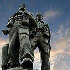 Spean Bridge commando monument, Scotland by buttonpresser