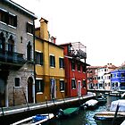 Venice, and all is colourful... by Peter Doré