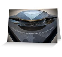 The National Service Memorial Greeting Card