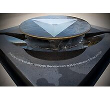 The National Service Memorial Photographic Print