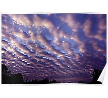 Morning sky over Madera 4/30/10 Poster