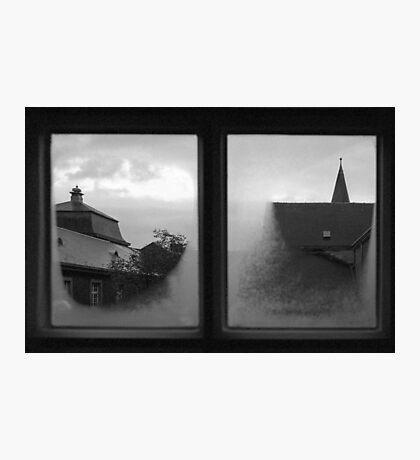 Through an abbey window Photographic Print