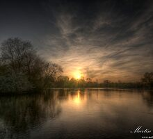 Regents Sunset by Martin Finlayson