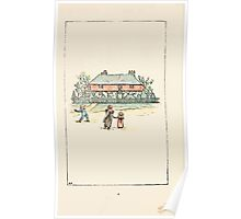 Mother Goose or the Old Nursery Rhymes by Kate Greenaway 1881 0006 Approaching the House Poster