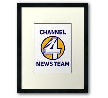 Anchorman - Channel 4 News Team Framed Print
