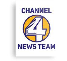 Anchorman - Channel 4 News Team Metal Print