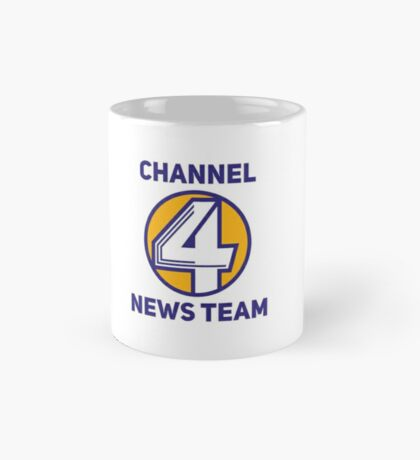 Anchorman - Channel 4 News Team Mug