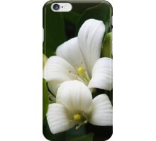 White Beauty iPhone Case/Skin