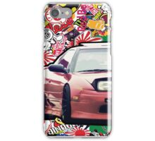 JDM Stickerbomb 240sx iPhone Case/Skin