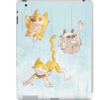It's raining cats and dogs iPad Case/Skin