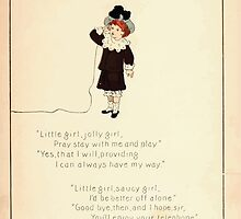 The Glad Year Round for Boys and Girls by Almira George Plympton and Kate Greenaway 1882 0039 Little Girl Jolly by wetdryvac