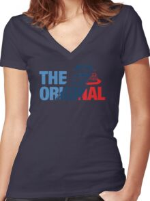 The Original (e30) Women's Fitted V-Neck T-Shirt