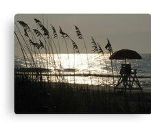 Oceanview at Myrtle Beach, SC Canvas Print