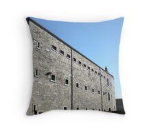 Beautiful day outside Kilmainham Gaol Throw Pillow