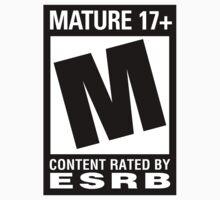 ESRB Mature 17+ by m4rdy