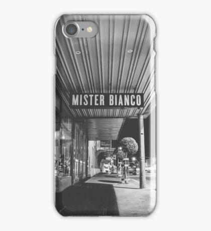 Mister Bianco iPhone Case/Skin