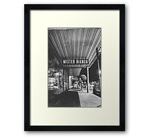 Mister Bianco Framed Print