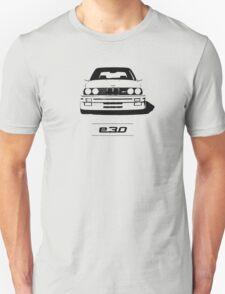 E30 second generation simple front end design Unisex T-Shirt