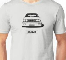 E30 second generation simple front end design Unisex T-Shirt