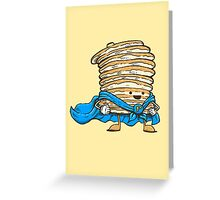 Captain Pancake Greeting Card