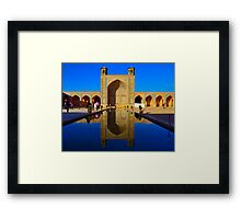 Vakil Mosque - SHIRAZ - IRAN Framed Print