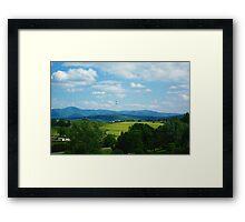 Rockbridge County, VA Framed Print