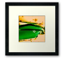 Green is good Framed Print