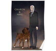 Charon & Nike Poster