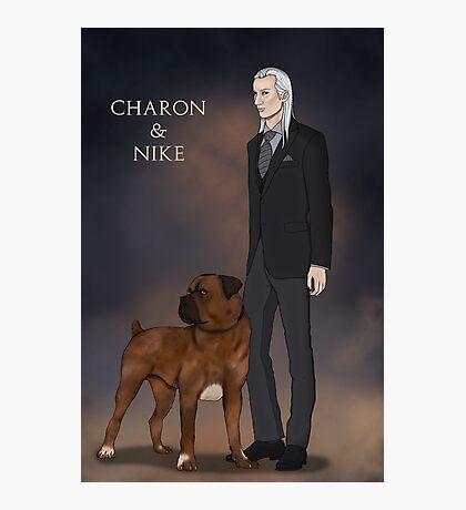 Charon and Nike Photographic Print