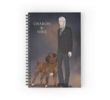 Charon & Nike Spiral Notebook