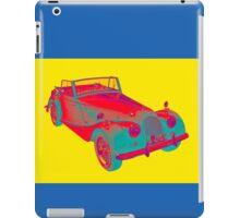 1964 Morgan Plus 4 Convertible Sports Car Pop Art iPad Case/Skin