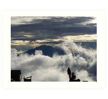 Kilimanjaro View Art Print