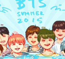 BTS SUMMER VACATION 2015 Sticker