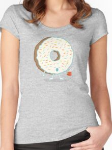 The Sleepy Donut Women's Fitted Scoop T-Shirt