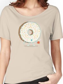 The Sleepy Donut Women's Relaxed Fit T-Shirt