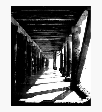 Seaside Tunnel Photographic Print