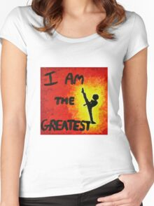 I Am the Greatest Women's Fitted Scoop T-Shirt