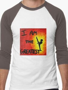 I Am the Greatest Men's Baseball ¾ T-Shirt