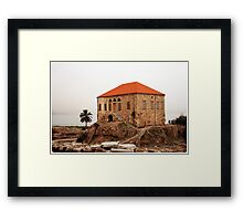 Byblos Framed Print