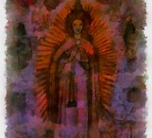 Mary Mother of God by Pierre Blanchard by esotericaart