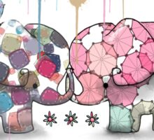 elephant confection Sticker