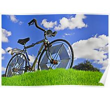 Bicycle Hill Poster