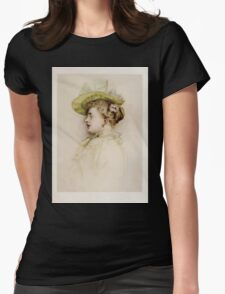 Kate Greenaway Collection 1905 0361 Portrait of a Lady Womens Fitted T-Shirt