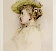 Kate Greenaway Collection 1905 0361 Portrait of a Lady by wetdryvac