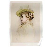 Kate Greenaway Collection 1905 0361 Portrait of a Lady Poster